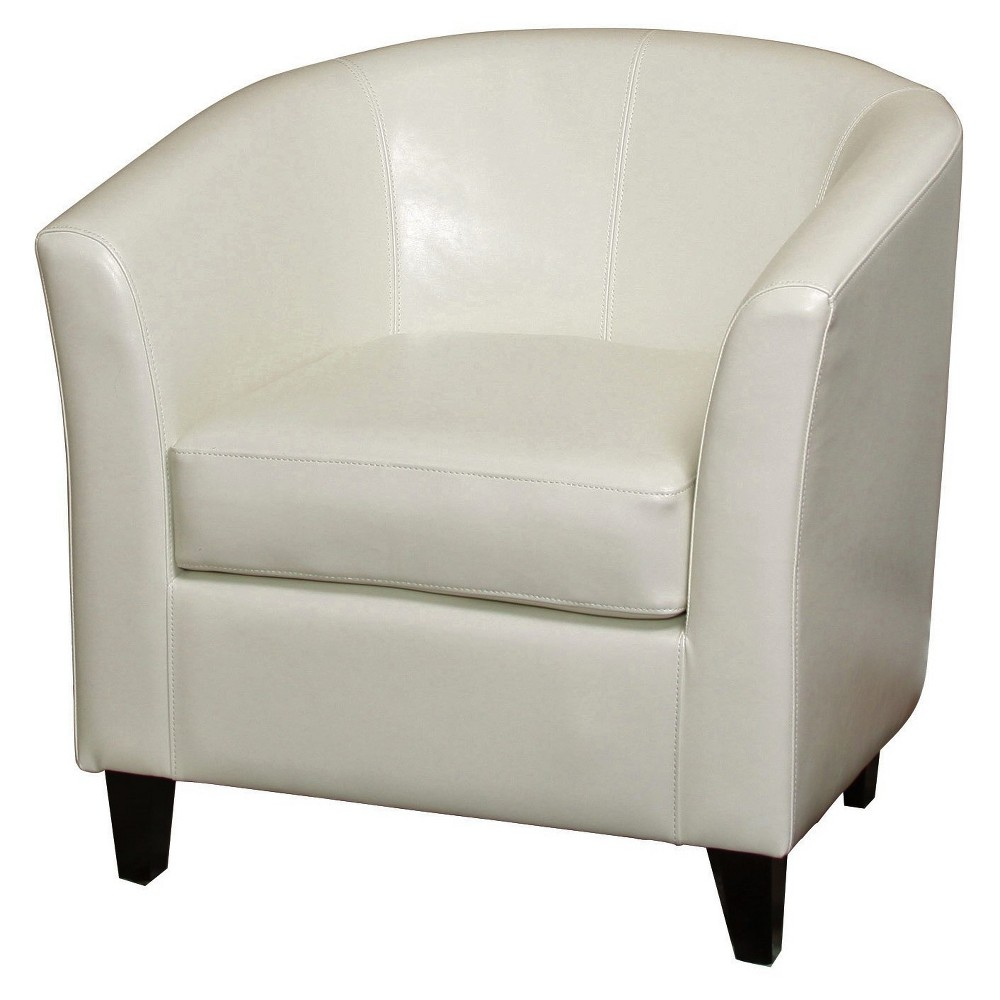 Preston Club Chair Ivory - Christopher Knight Home