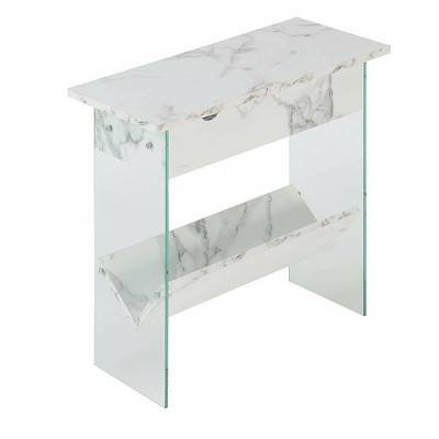 Soho Flip Top End Table with Charging Station - Breighton Home
