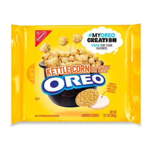 Oreo Kettle Corn Sandwich Cookies - My Oreo Creation - 10.7oz - image 1 of 2
