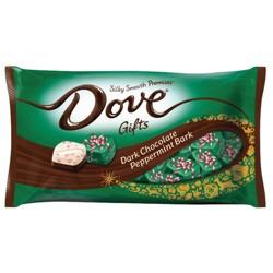Dove Promises Peppermint Bark Dark Chocolate Christmas Candy - 7.94oz