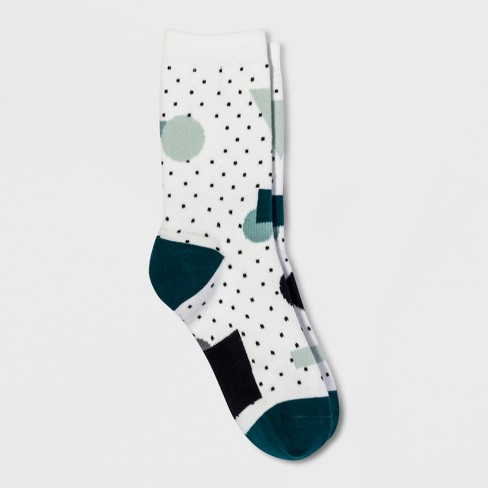 Women's Casual Socks Pair of Thieves White Gray Teal 4-10 - image 1 of 2