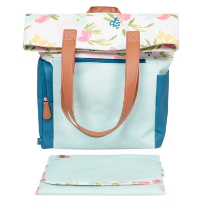 Floral Backpack Diaper Bag - Cloud Island™