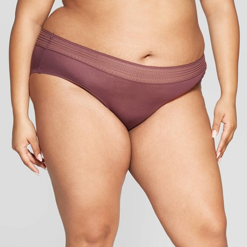 Women's Plus Size Modal Hipster - Auden™ - image 1 of 2