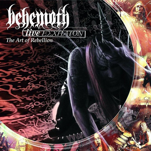 Behemoth - Live eschaton:Art of rebellion (CD) - image 1 of 1