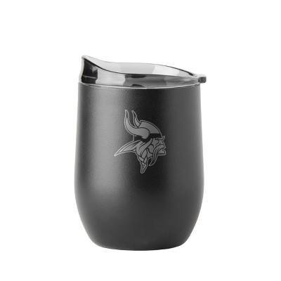 NFL Minnesota Vikings Premium Powder Coat Curved Ultra Tumbler - 16oz