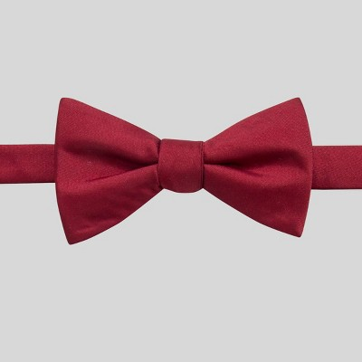 Men's Fairway Solid Bowtie - Goodfellow & Co™ Red One Size