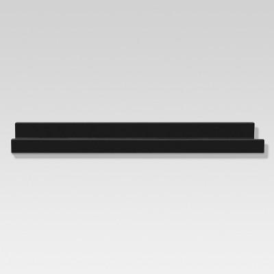 Picture Ledge Wall Shelf - Black - Threshold™