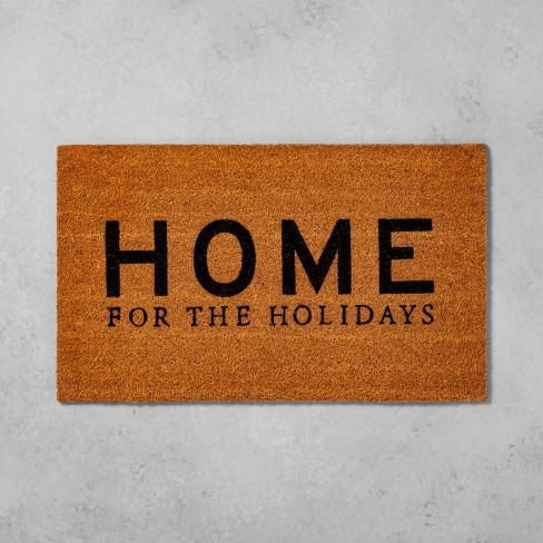 """18""""X30"""" Home for the Holidays Doormat - Hearth & Hand™ with Magnolia - image 1 of 3"""