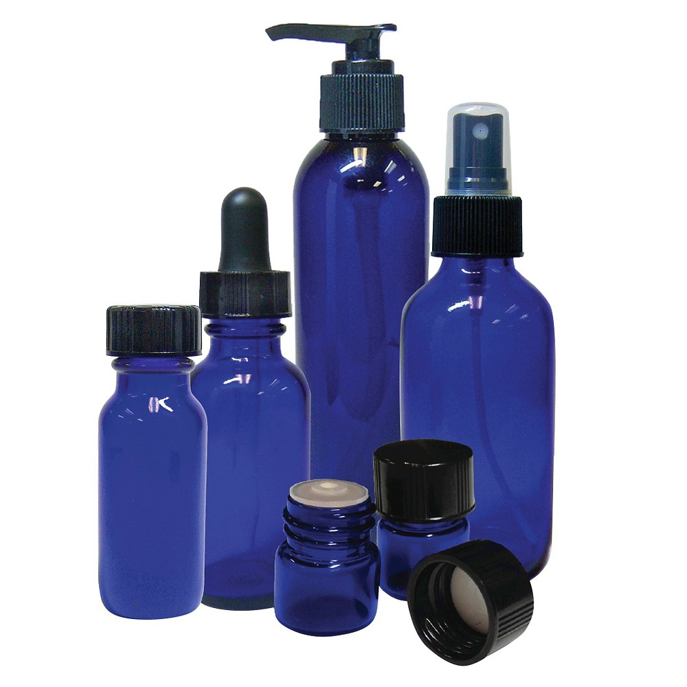 Image of Aromatherapy Oil Bottle SpaRoom Variety Pack, White