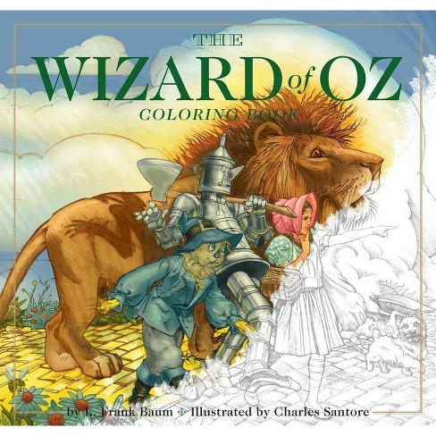 The Wizard of Oz Coloring Book - (Paperback) - image 1 of 1