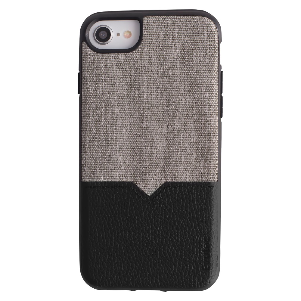 Evutec Apple iPhone 8/7/6s/6 Northill Case (with Car Vent Mount) - Gray/Black, Black Gray