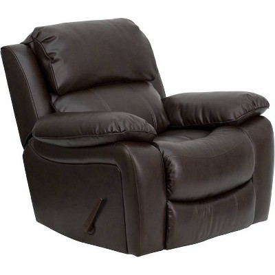 Leather Rocker Recliner - Riverstone Furniture Collection
