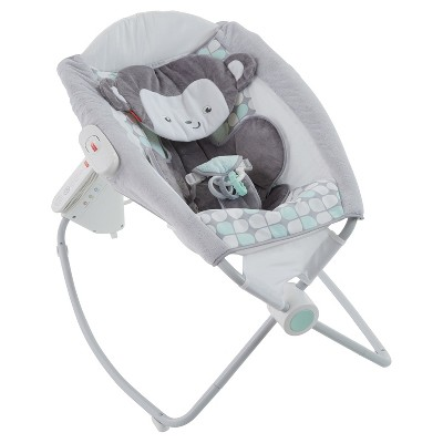 Fisher-Price Sweet Surroundings Monkey Deluxe Auto Rock 'n Play Sleeper