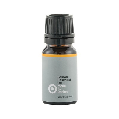 .33 fl oz 100% Pure Essential Oil Single Note Lemon - Made By Design™