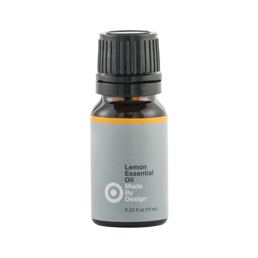 Image of .33 fl oz 100% Pure Essential Oil Single Note Lemon - Made By Design