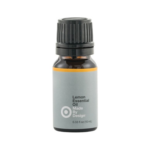 .33 fl oz 100% Pure Essential Oil Single Note Lemon - Made By Design™ - image 1 of 2