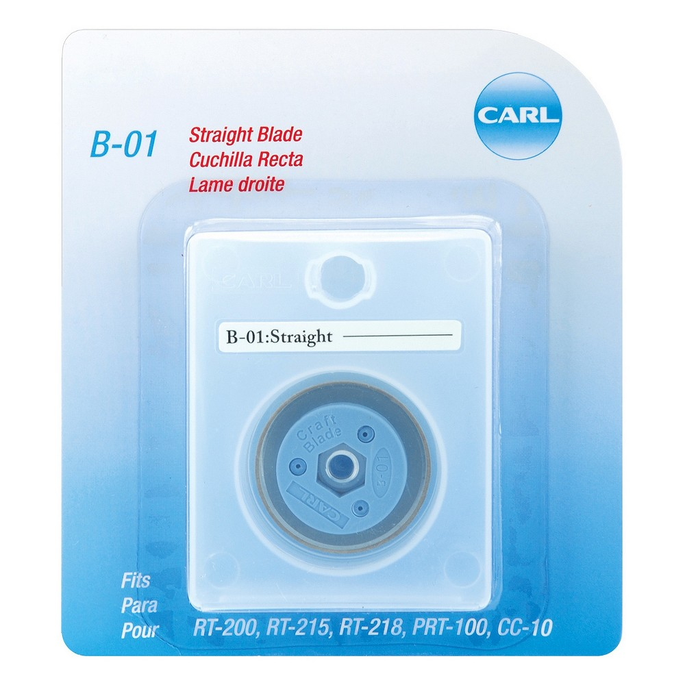 Image of Carl Professional Rotary Trimmer Straight Replacement Blade