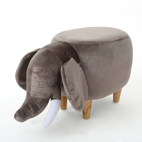 Rosie Elephant Ottoman - Christopher Knight Home