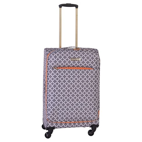 "Jenni Chan Aria Broadway 24"" Soft Spinner Suitcase - Gray - image 1 of 2"