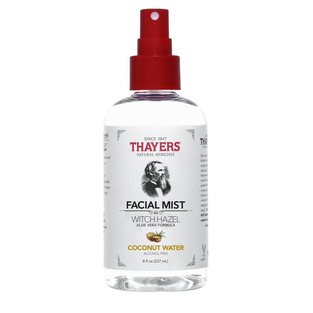 Thayers Natural Remedies Witch Hazel Coconut Water Facial Mist Toner 8 Fl Oz