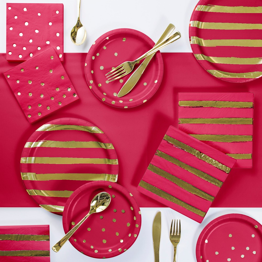 Party Kit Red Gold, Party Kits