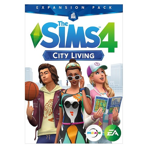 the sims 4 city living expansion pack pc game target