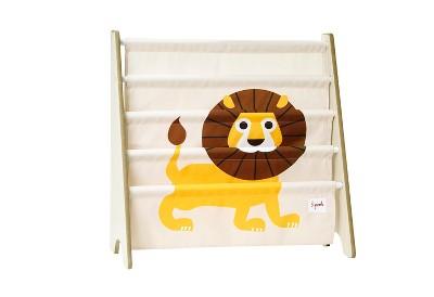 3 Sprouts Kids Bookcase Rack Lion Print
