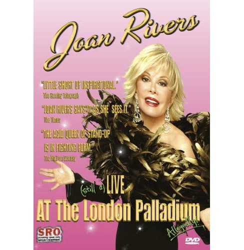 Joan Rivers:Live At The London Pallad (DVD) - image 1 of 1