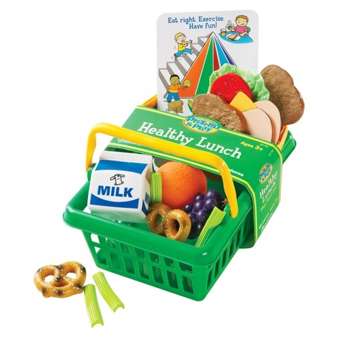 Learning Resources Healthy Lunch Basket - image 1 of 1