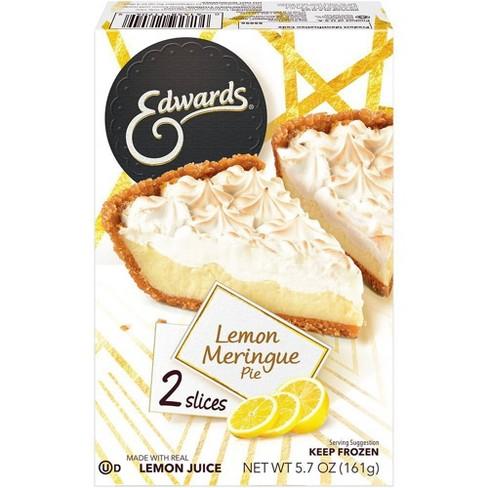 Edward's Frozen Lemon Meringue Pie Slices - 5.7oz - image 1 of 4