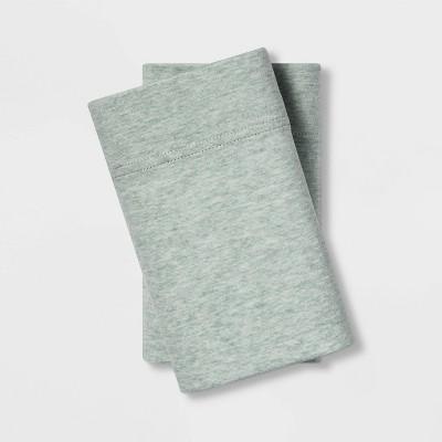 Standard Jersey Blend Pillowcase Set Green - Project 62™ + Nate Berkus™