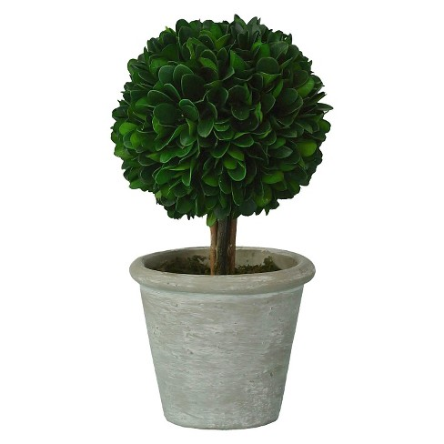 Boxwood Topiary Small - Green - Smith & Hawken™ - image 1 of 1