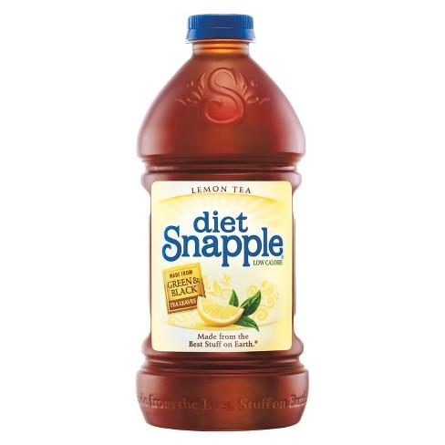 Diet Snapple Lemon Tea - 64 fl oz Bottle