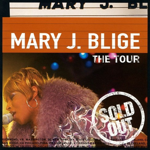 Mary J. Blige - Tour (CD) - image 1 of 4