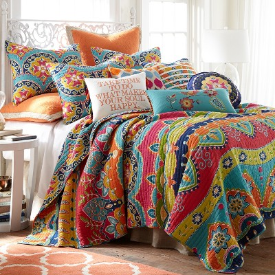 Amelie Quilt and Pillow Sham Set - Levtex Home