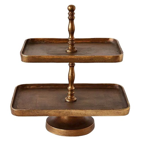 Two Tier Serving Platter - 3R Studios - image 1 of 1