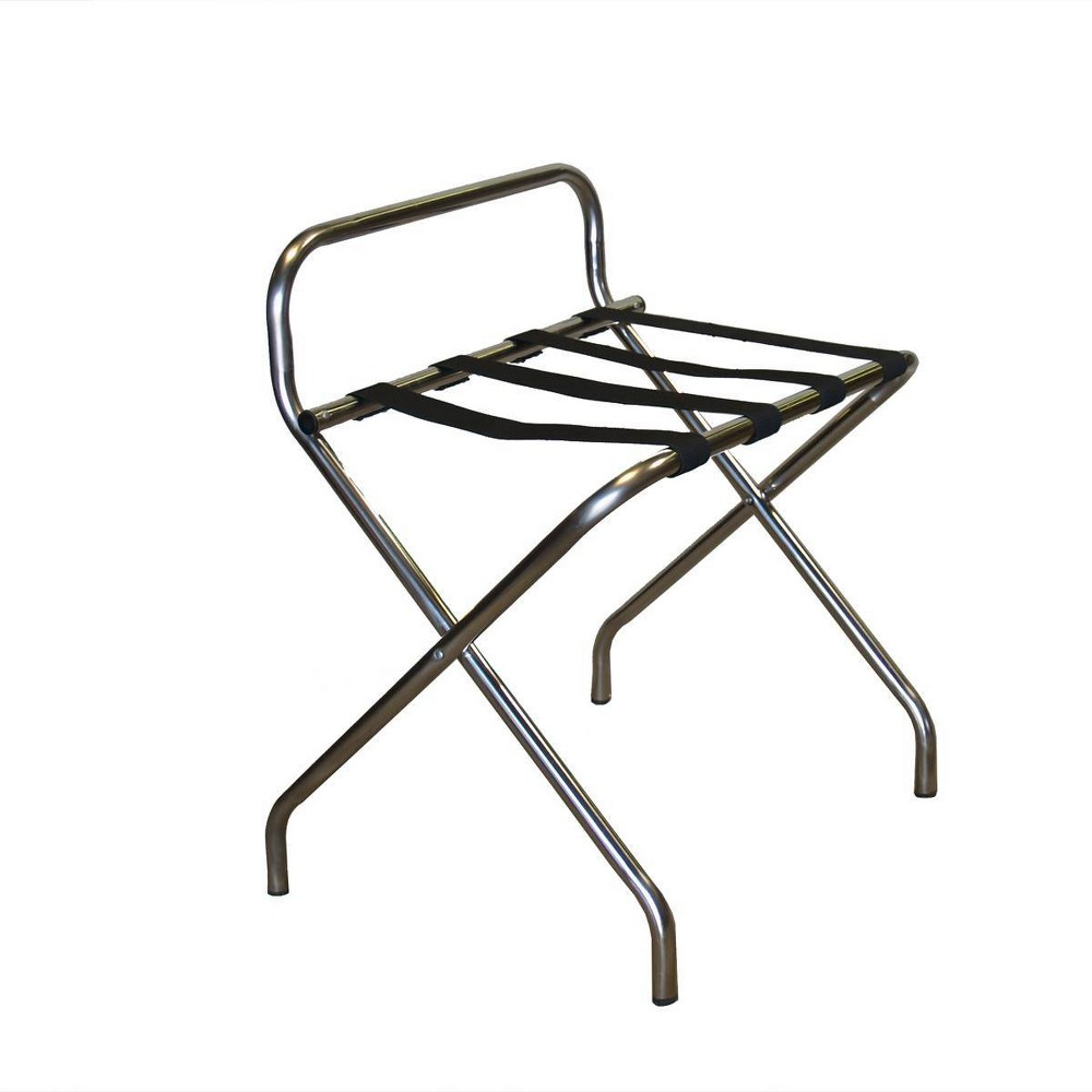 Image of Katella Commercial Grade Luggage Rack - Stainless Steel Tubing - Proman Products