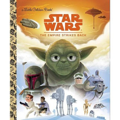 Star Wars: The Empire Strikes Back - (Little Golden Book) by  Geof Smith (Hardcover)