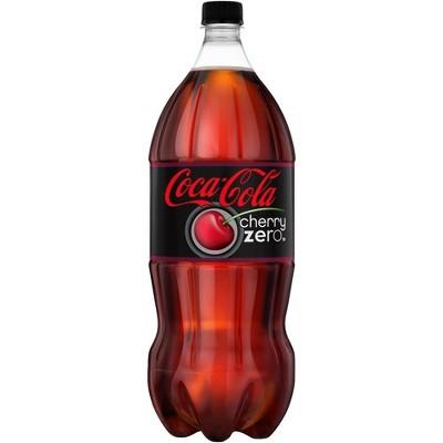 Coca-Cola Cherry Zero - 2 L Bottle