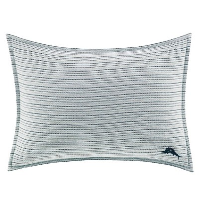 "16"" x 20"" Raw Coast Decorative Throw Pillow Blue - Tommy Bahama"