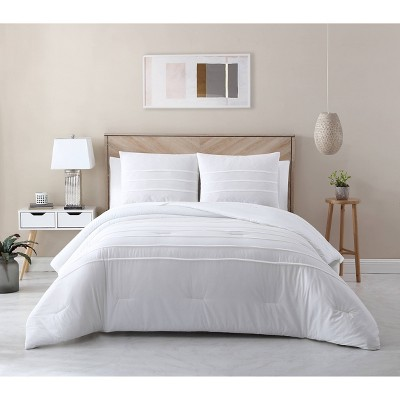 Cotton Lyocell Pleated Comforter Set - Avery Homegrown