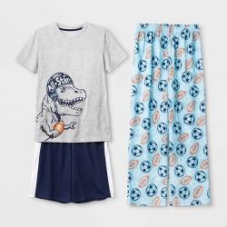 Boys' 3pc Dino Pajama Set - Cat & Jack™