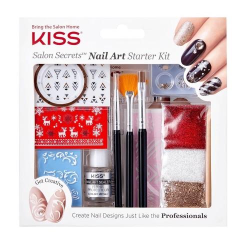 Kiss Salon Secrets Nail Art Starter Kit Target