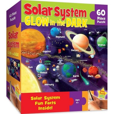 MasterPieces Inc Explorer Kids Solar System 60 Piece Glow In The Dark Jigsaw Puzzle