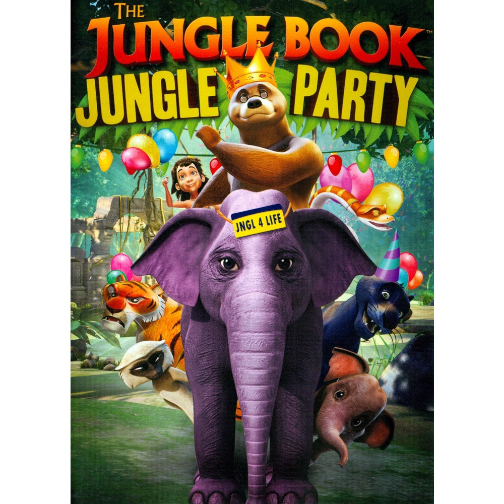 Jungle book:Jungle party (Dvd)