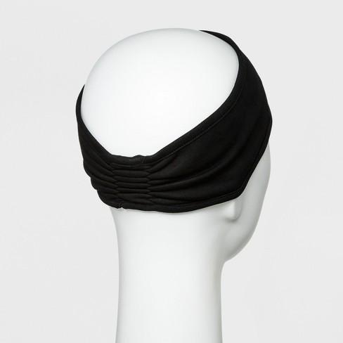 Women s Jersey Velour Outwear Headband - C9 Champion® Black   Target a2d19bcd952