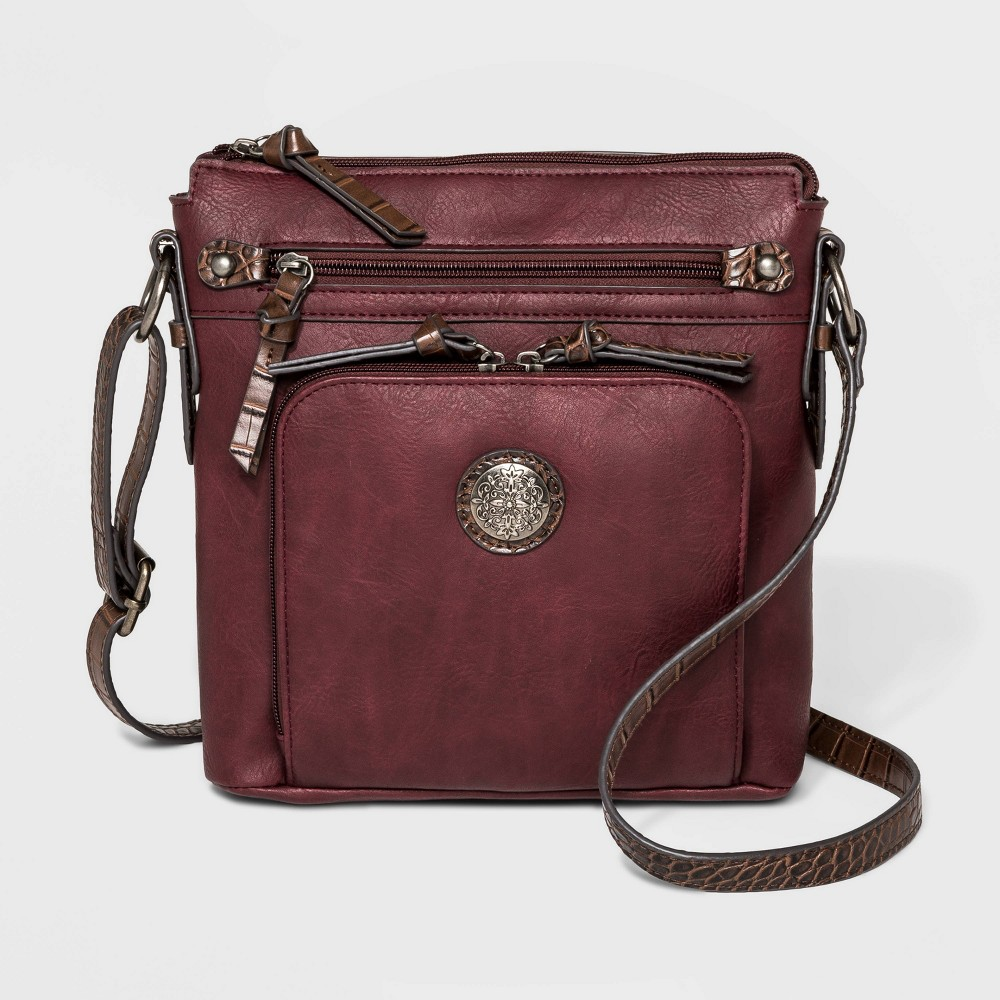 Image of Bueno Crossbody Bag - Berry, Women's, Pink