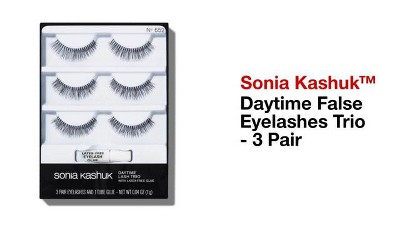 6e1cae04a4a Sonia Kashuk™ Daytime False Eyelashes Trio - 3 Pair : Target