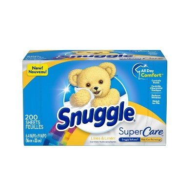 Snuggle Supercare Lilies & Linen Dryer Sheets - 200ct