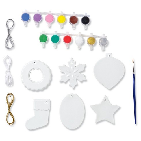 Mindware Paint Your Own Porcelain - Christmas Ornaments - image 1 of 5